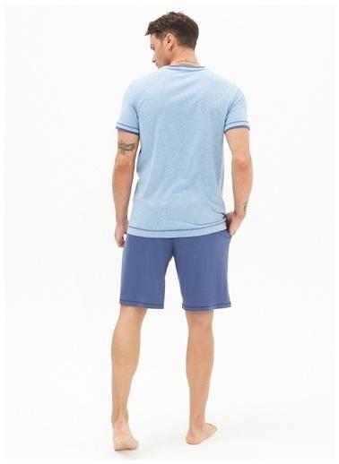 Blackspade Blackspade Pijama Takımı Mavi